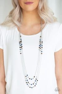 Paparazzi Jewelry Catalog - JewelryBlingThing.com Blue Necklace, Tassel Necklace, Necklace Set, Turquoise Necklace, Paparazzi Accessories, Paparazzi Jewelry Catalog, Mobile Boutique, Wooden Beads, Silver Chains
