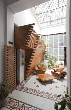 From Capilla Del Espíritu Santo designed by Jorge Scrimaglio   #Architecture #InteriorDesign #Roof  