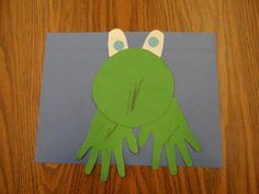Cute frog craft