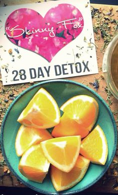 """28 Day """"SkinnyFox"""" Organic Tea Detox Package. All Natural way to detoxify and cleanse your body!"""