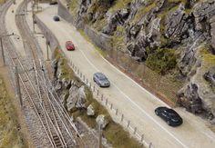 Schweizer Alpenbahn | Strassenbau