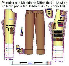 Moldes de pantalón de vestir para niño. Puedes imprimir los moldes de pantalón de vestir de niño de 6 años o 110 centímetros de estatura en varios formatos de impresión: 1.- En formato Pdf para tu …