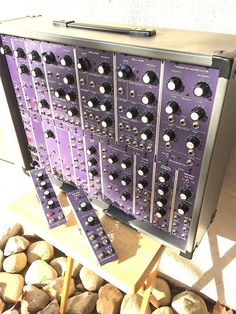 MATRIXSYNTH: Custom Purple Synthesizers.com Modular System