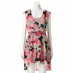ea47256e333  Candies  dress  floral Hi Low Dresses