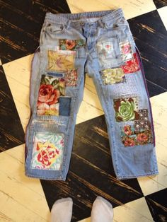 99 Summer time Denim Dressing Inspirations You Want To Know - Refashion Clothes Crafts, Sewing Clothes, Diy Clothing, Clothing Patterns, Fashion Sewing, Diy Fashion, Fashion Ideas, Diy Vetement, Summer Denim