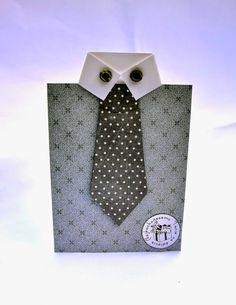 Kolorowy Światek : Kartka koszulowa z krawatem