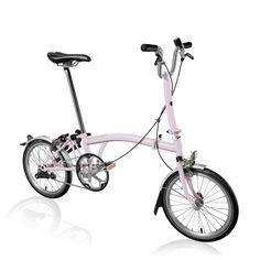 Bike Builder | Brompton Bicycle, single speed light weight Cherry Blossombike
