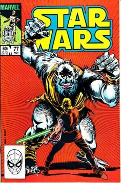 Star Wars 1977 Marvel 77 November 1983 Issue  by ViewObscura