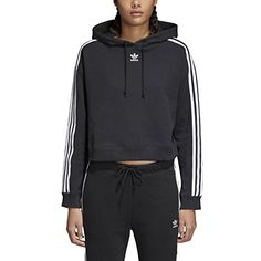 A sporty staple with a modern laid-back shape. This women's hoodie shows off a crossover hood design and a slight cropped length.  http://darrenblogs.com/us/2018/01/28/adidas-originals-womens-cropped-hoodie/