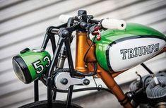 Interesting design of supplemental front-wheel suspension