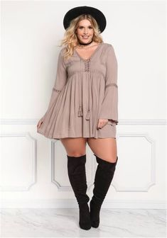 photos/chill Casual but comfy plus size fall outfits ideas 63 Curvy Outfits, Mode Outfits, Fall Outfits, Fashion Outfits, Fashion Trends, Fall Dresses, Evening Dresses, Dresses Uk, Beach Outfits
