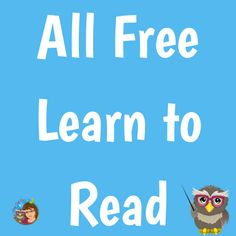 All free resources for learning to read. Learn To Read, Teacher, Education, Learning, Free, Professor, Educational Illustrations, Teaching, Studying
