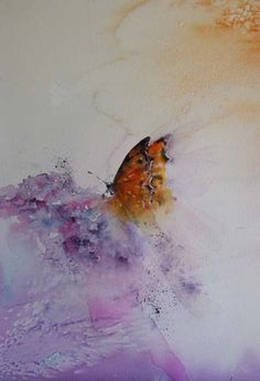 """On Angels Wings"" Butterfly in watercolour I am participating in the Butterfly Count at the moment here in UK which means taking t..."