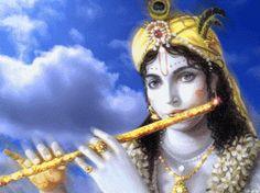 imagem google krishna dourado com flauta - Pesquisa Google