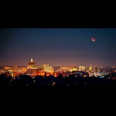 Great view of Boise!  Photo source @syddavis17 via Intsagram