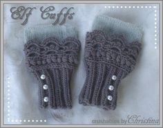 You have to see Elf Cuffs on Craftsy! - Looking for knitting project inspiration? Check out Elf Cuffs by member splatterpunked. - via @Craftsy