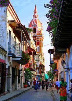 COLOMBIA - RUE DE CARTAGENA