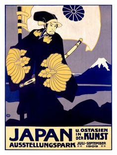 Japanese Art Exhibit, c. 1909 Giclee Print
