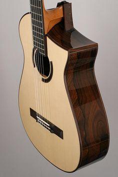 Custom Nylon strings guitar by the master luthier michihiro matsuda