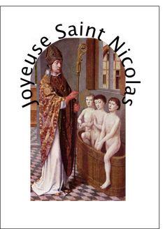 Carte Joyeuse saint Nicolas pour envoyer par La Poste, sur Merci-Facteur ! #SaintNicolas #StNicolas #carte http://www.merci-facteur.com/carte-saint-nicolas.html
