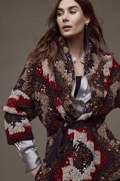 Brunello Cucinelli Осень 2018 Коллекция готовых к употреблению - Vogue