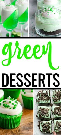 St Patty's Day is here. Celebrate with these easy with these Green Desserts for St Patrick's Day! These green food ideas will help you create a fun and festive holiday for the entire family. Pistachio Bundt Cake Recipe, Chocolate Cheesecake Dip Recipe, Mint Cheesecake, Baked Cheesecake Recipe, Chocolate Recipes, Green Desserts, Raw Brownies, Parfait Recipes, Homemade Fudge