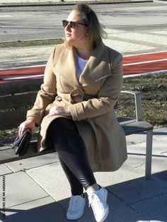 Abrigo Marron entallado Primark & Legging polipiel efecto vinilo Primark.LOOKS CASUALS. www.loslooksdemiarmario-com #loslooksdemiarmario #winter #outfitcurvy #invierno #look #lookcasual #lookschic #tallagrande #curvy #plussize #curve #fashion #blogger #madrid #bloggercurvy #personalshopper #curvygirl #primark #lookinvierno #negroymarron #brown #sportchic #leggingpolipiel #browncoat #abrigomarron #sportychic #trendy