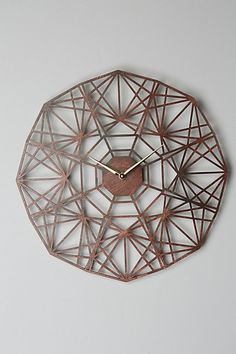Gatehouse Wall Clock, Geo - anthropologie.com #anthrofave