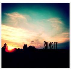 Sunset Summer Eve