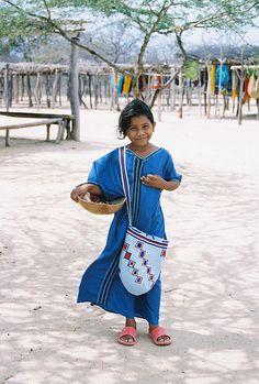 A little girl in La Guajira, Colombia. Guajiran girl | by AntiFilms