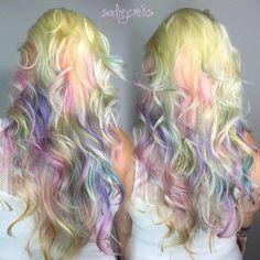 Instagram media by sadiejcre8s - BABY UNICORN HAIR .... And because Opals are so prettyful #unicorntribe #scruples #urbanshock #modernsalon #americansalon #salonguys #pompsalon #behindthechair #beautylaunchpad #mermaidians #cakefaceconfessional #1minutehair #newyearnewyou #opalhair Baby Unicorn, Unicorn Hair, Salon Guys, Opal Hair, New Year New You, Creative Hairstyles, Cosmetology, Modern Fashion, Hair Inspiration
