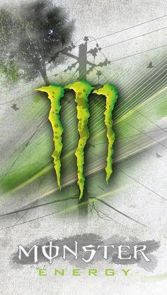 Monster Energy Drink Logo, Monster Energy Girls, Apple Wallpaper, Cool Wallpaper, Wallpaper Backgrounds, Green Wallpaper, Phone Screen Wallpaper, Iphone Wallpaper, Hero Logo