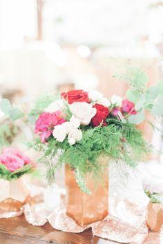 Enchanted Garden Wedding with Copper Details   Elegant Wedding
