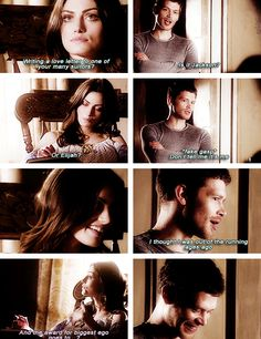 The Originals | Klayley | Klaus and Hayley should have more scenes together, they're so cute <3