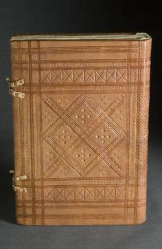 late coptic bookbinding :: University of Iowa Libraries Bookbinding Models