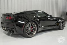 Check out a unique black widebody C7 Chevrolet Corvette Stingray currently for sale in the U.S!