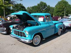1955 Chevy 3100 Thriftmaster truck(2)