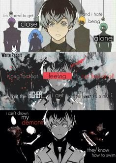 Tokyo Ghoul :Re with Bring Me The Horizon's lyrics of 'Can You Feel My Heart' song.