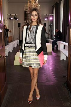 The Olivia Palermo Lookbook : LFW 2013 : Olivia Palermo At Whistles Limited Edition