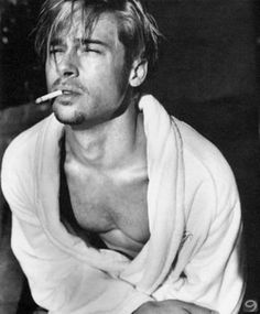Good Morning, have some Brad Pitt – Famous Last Words Hot Men, Sexy Men, Beautiful Men, Beautiful People, Mickey Rourke, George Clooney, Tom Hardy, Perfect Man, Pretty Boys