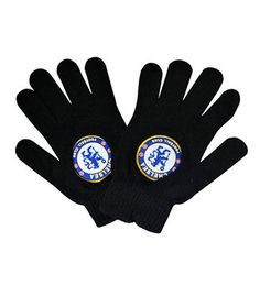 New #youth size chelsea fc woolen #gloves / #wooly #gloves / football #gloves,  View more on the LINK: 	http://www.zeppy.io/product/gb/2/331633425752/