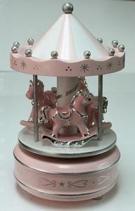 Merry-Go-Round Music Box