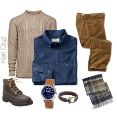 A fashion look from November 2014 featuring Timberland boots and Barbour scarves. Browse and shop related looks.