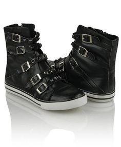 High top sneakers! <3