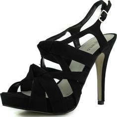 Save 10% + Free Shipping Offer * | Coupon Code: Pinterest10 Material: Man Made Material. Approx 1.5 inches, 0.75 inch platform True to size, Open toe Platform Sandals Product Code: Jelena-160 Black Women's Wild Diva Jelena-160 Black Platform Strappy Sandals