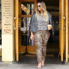 Printed Kady Pant | Women's Plus Size Pants | ELOQUII.com