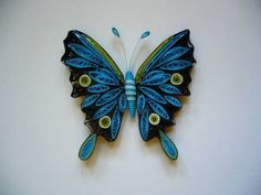 Butterfly 1 - Quilled Creations Quilling Gallery