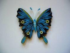 Resultado de imagen para mariposas quilling