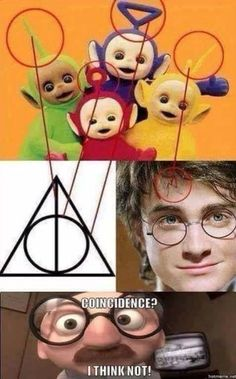 Les Teletubbies ne seront plus jamais pareil pour vous 🤣🤣🤣 Harry Potter Tumblr, Harry Potter Anime, Images Harry Potter, Harry Potter Jokes, Harry Potter Fandom, Harry Potter Voldemort, Really Funny Memes, Funny Relatable Memes, Funny Jokes