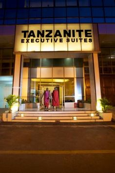 Tanzanite Executive Suites Dar Es Salaam Set in the very centre of Dar es Salaam, Tanzanite offers air-conditioned rooms, a 3-minute walk from the ferry dock to Zanzibar. Julius Nyerere International Airport is 10km away.